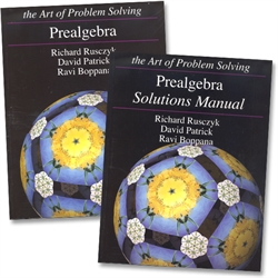 Art of Problem Solving Prealgebra - Text & Solutions