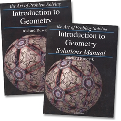 Art of Problem Solving Introduction to Geometry - Text & Solutions