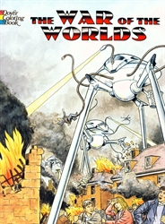 War of the Worlds - Coloring Book