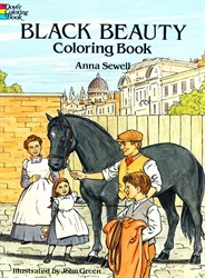 Black Beauty - Coloring Book