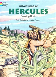 Adventures of Hercules - Coloring Book