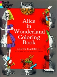 Alice in Wonderland - Coloring Book