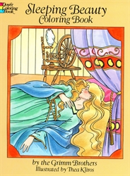 Sleeping Beauty - Coloring Book