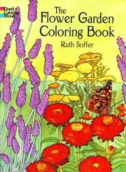 Flower Garden - Coloring Book