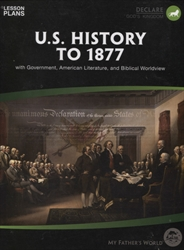 U.S. History to 1877 - Daily Lesson Plans