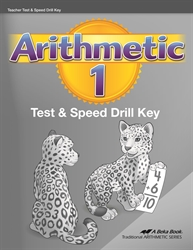 Arithmetic 1 - Tests & Speed Drills Key