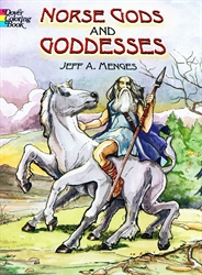 Norse Gods and Goddesses - Coloring Book