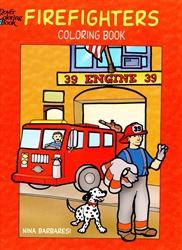 Firefighters - Coloring Book