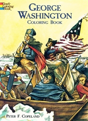 George Washington - Coloring Book
