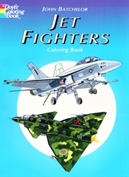 Jet Fighters - Coloring Book