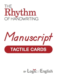 LOE Rhythm of Handwriting Manuscript - Tactile Cards