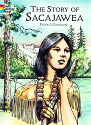 Story of Sacajawea - Coloring Book