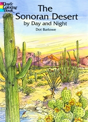 Sonoran Desert by Day and Night - Coloring Book