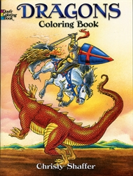 Dragons - Coloring Book
