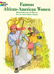 Famous African-American Women - Coloring Book