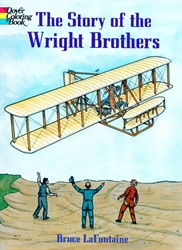 Story of the Wright Brothers - Coloring Book