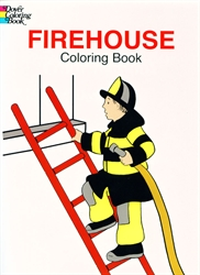 Firehouse - Coloring Book