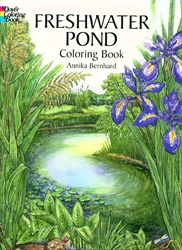 Freshwater Pond - Coloring Book