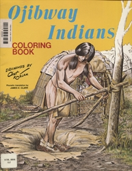 Ojibway Indians - Coloring Book