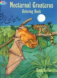 Nocturnal Creatures - Coloring Book