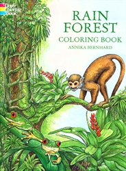 Rain Forest - Coloring Book
