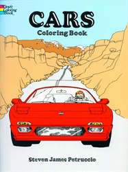 Cars - Coloring Book