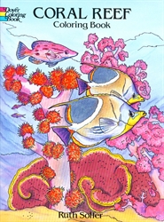 Coral Reef - Coloring Book