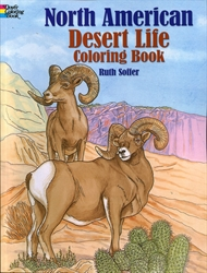 North American Desert Life - Coloring Book