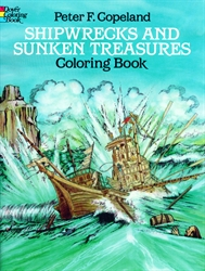 Shipwrecks and Sunken Treasures - Coloring Book