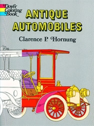 Antique Automobiles - Coloring Book