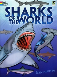 Sharks of the World - Coloring Book