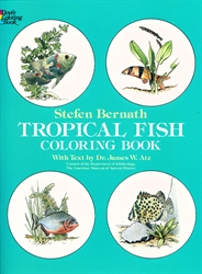 Tropical Fish - Coloring Book