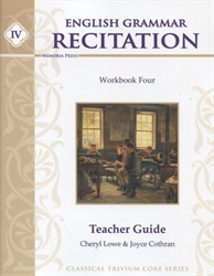 English Grammar Recitation IV - Teacher Manual