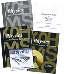 Saxon Physics - Home School Bundle with DIVE CD
