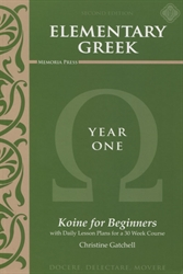 Elementary Greek Year One - Textbook