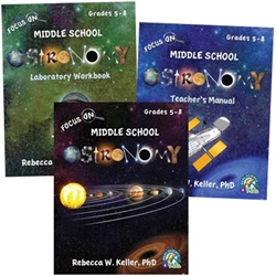 Focus On Middle School Astronomy - Package