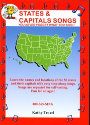 States & Capitals Songs - DVD