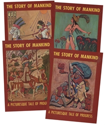 Story of Mankind - 4 Volume Set