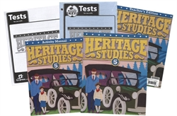 BJU Heritage Studies 5 - Home School Kit