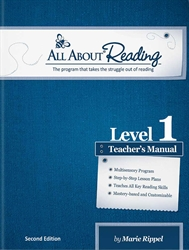 All About Reading Level 1 - Teacher's Manual