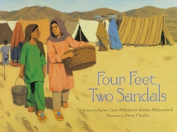 Four Feet, Two Sandals
