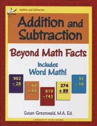 Addition and Subtraction Beyond Math Facts