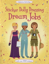 Sticker Dolly Dressing: Dream Jobs