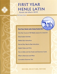 Henle First Year Latin Units III-V - Study Guide (old)