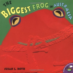 Biggest Frog in Australia