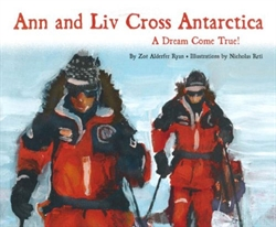 Ann And Liv Cross Antarctica
