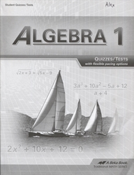 Algebra 1 - Test/Quiz Book