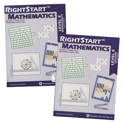 RightStart Mathematics Level E - Book Bundle