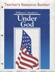 Under God - Teacher's Resource Booklet