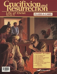 Crucifixion and Resurrection Flash-a-Card (old edition)
